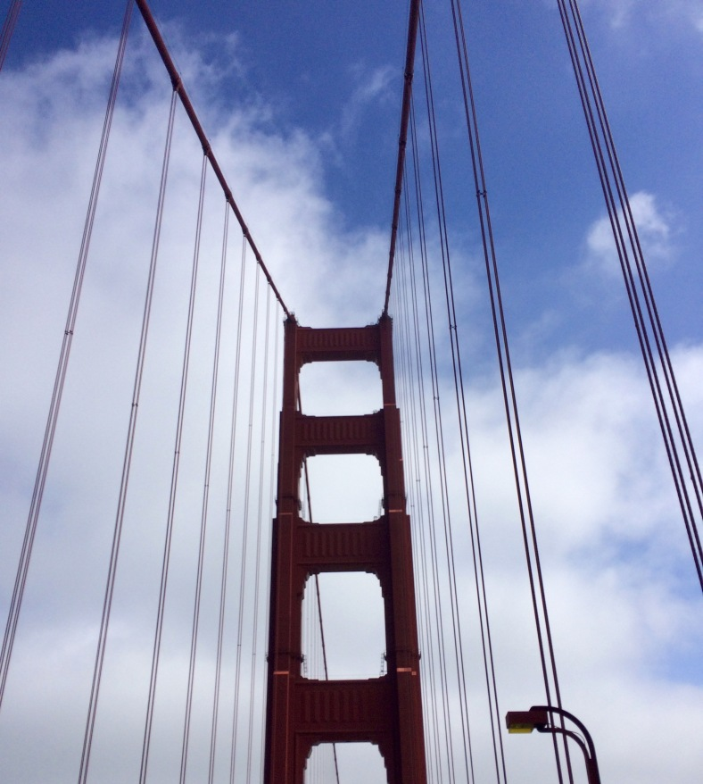 This post wouldn't be complete without a (quite terrible) picture of Golden Gate Bridge.