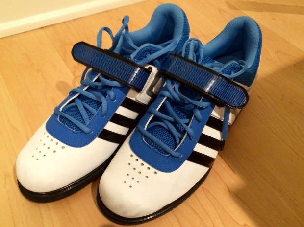 I think this is the first pair of blue and white shoes that I've bought in a long time.